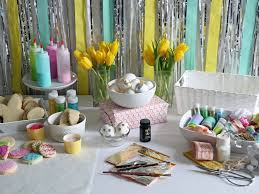 Easter Church Decorations Ideas by Engaging Spring Flower Garden Table Decorations With Easter Diy