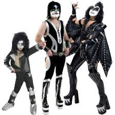 Kiss Halloween Costume Celebrity Musician Costumes Musician Costumes Brandsonsale