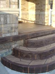 awesome outdoor spiral staircase in dark brown polished powder