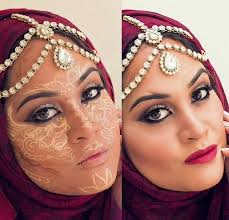 henna makeup trend alert henna contouring brings artistic twist to makeup
