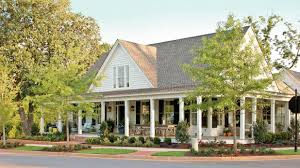 Cottage House Plans With Porches Southern Living House Plans Farmhouse Revival