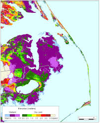 Nc Counties Map More Sea Level Rise Maps Of North Carolina