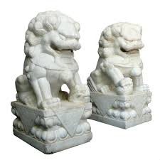 foo dog statue for sale i a pair of alabaster foo dogs that were a gift to our home s