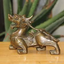 pixiu statue fengshui bronze wealth pixiu brave troops unicorn