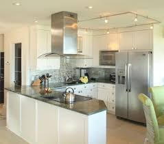 uncategories track lighting over kitchen island ceiling fixtures