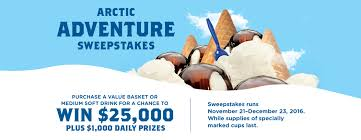Sweepstakes by Win 25 000 Cash On Pepsi And Culver U0027s Arctic Puzzle Adventure
