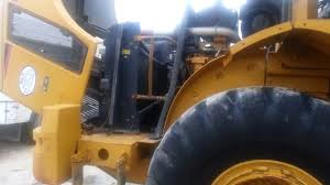 caterpillar 950h loader getting an oil change video dailymotion