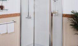 Shower Door Water Guard Bathroom Glass Door Water Guard Bathroom Design Ideas