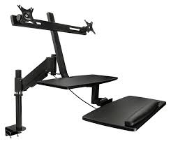 amazon com mount it sit stand desk standing desk height