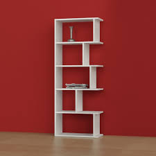 White Contemporary Bookcase by Matte Tapi Bookshelf White Turkish Shelving Touch Of Modern