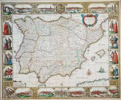 Maps Spain by Rare Old Antique Maps Spain Virtual Antique U0026 Rare Art Book