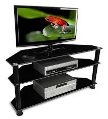 Tv Units With Storage Amazon Com Mount It Mi 850 Tv Stand Glass Shelving With Storage