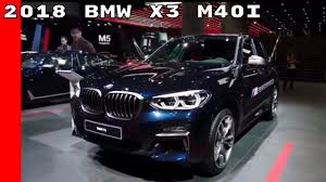 2018 bmw x3 m40i youtube