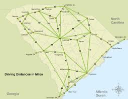 sc highway map south carolina highway