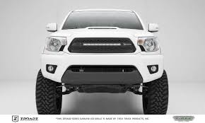 tacoma grill light bar toyota tacoma zroadz series main insert grille w one 20 inch