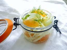 cuisiner le hareng recette salade fenouil plemousse hareng fumé à emporter dans