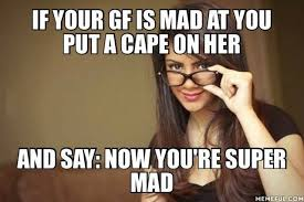 Super Mad Meme - and say now you are super mad justpost virtually entertaining