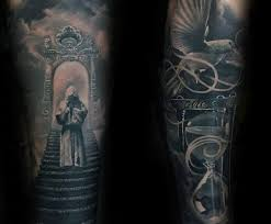 50 heaven tattoos for higher place design ideas dedicated to led