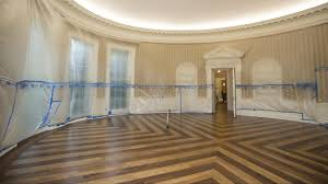 What Floor Is The Oval Office On No Spoilers The Floors Underneath The Carpeting In The Oval