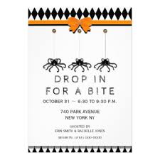 Open House Invitations Halloween Open House Invitations U0026 Announcements Zazzle