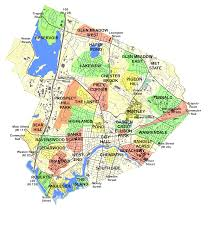 Massachusetts Town Map by Waltham Ma Maps