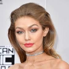 gigi hadid hairstyles american music awards 2016 best hairstyles fashion magazine