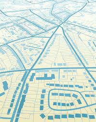 vector map city map design elements vector free vector in encapsulated