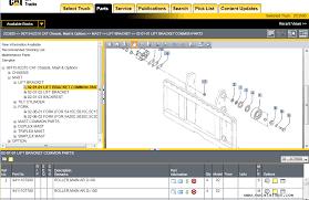 caterpillar lift trucks 2017 mcfa usa parts catalog spare parts