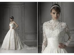wedding dresses with bolero white lace gown wedding dress with sheer lace bolero