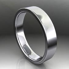1 5 mm wedding band archer ring men s 14k white gold wedding band brushed satin
