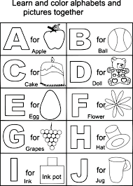 printable alphabet kindergarten alphabet coloring pages for kindergarten kindergarten worksheets