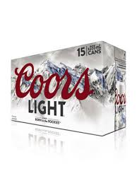 coors light 18 pack lighter refreshing pei liquor control commission