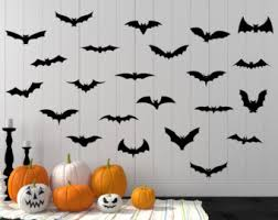 Outdoor Halloween Decorations Etsy by Halloween Bats Etsy