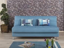 Blue Sleeper Sofa Sleeper Sofa Eco Plus Blue By Casamode