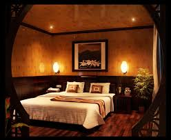 romantic bedroom decor idea with dim light fixtures feat