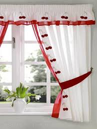 decorations room red black and white kitchen curtains red and