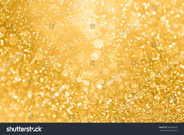 new years or birthday party invitation stock image gold glitter sparkle confetti background stock photo