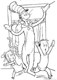 dr seuss color pages dr seuss the cat in the hat coloring pages 28 truth pinterest