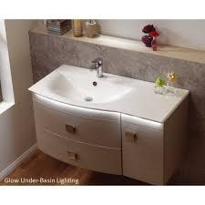 white under sink basin cabinet cupboard bathroom furniture storage