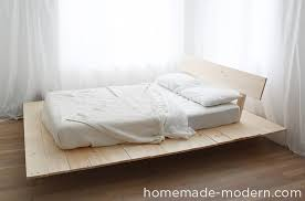 Make A Platform Bed With Storage by Homemade Modern Ep89 Platform Bed