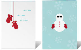 mod holidays cards by feterie at home with vallee