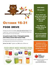 canned food drive web flyer test template word