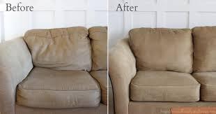 rembourrage coussin canapé ne supportait plus canapé qui s affaisse regardez sa