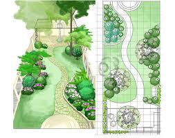 Rock Garden Pictures Ideas Plans Examples by Love This Back Garden Design Plan эскиз Pinterest Garden