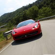 ferrari front view ferrari 458 italia front view 4k hd desktop wallpaper for 4k