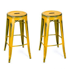 my bar stools distressed red metal bar stools pin this farmhouse