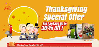 happy thanksgiving 2013 thanksgiving bundle up to 30 discount