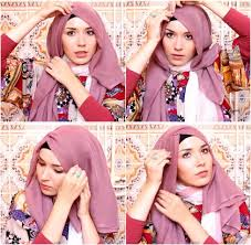 tutorial hijab simple tapi menarik tutorial hijab paris simple dan modis beserta gambar