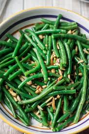 green beans with garlic and almonds s cuisine