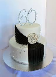 60th birthday cake flowery and simple u2026 pinteres u2026